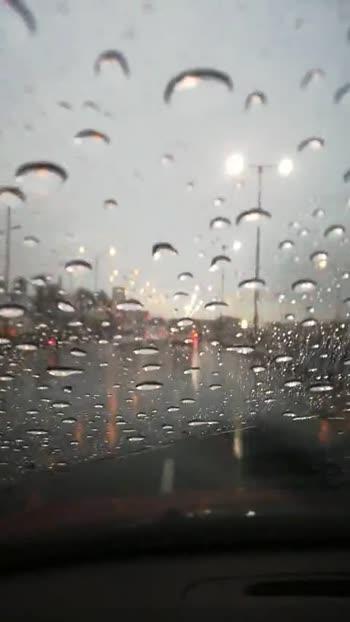 rain is falling!!!  👧🌂 - ShareChat