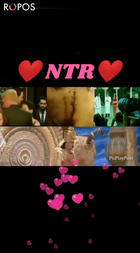 Jai NTR - ROPOSO NTR PicPlayPost NTR ROPOSO - ShareChat