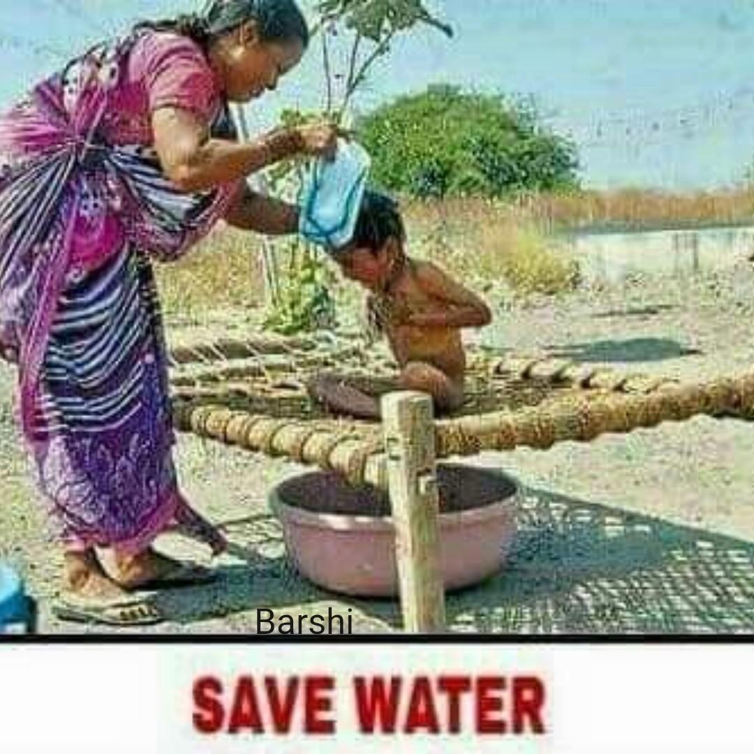 🤯उन्हाळा केअर टिप्स - Barshi SAVE WATER - ShareChat