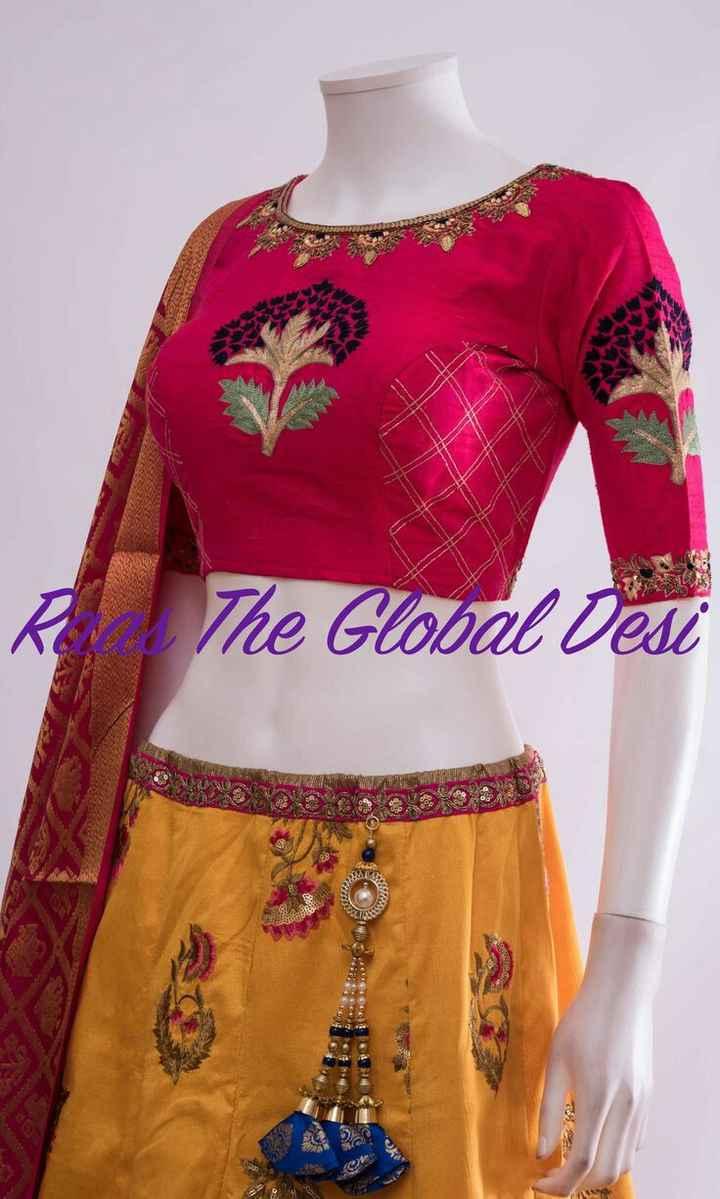 chaniya choli - ✓ The Global Desi 12 - ShareChat