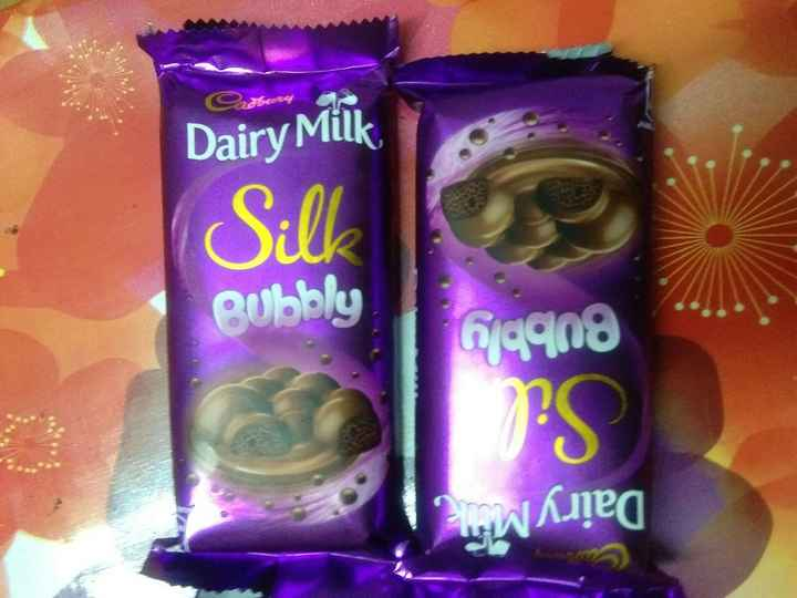 chocolate - Dairy Milk Sill Bubbly 699n8 Twima - ShareChat