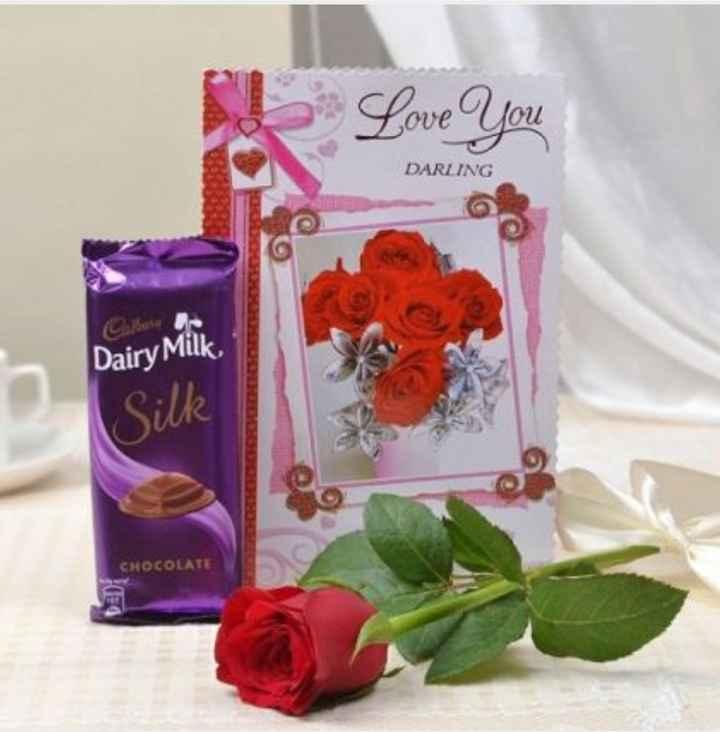 chocolate lovers 😘😍🍫👯 - Love You DARLING Dairy Milk Silk CHOCOLATE - ShareChat