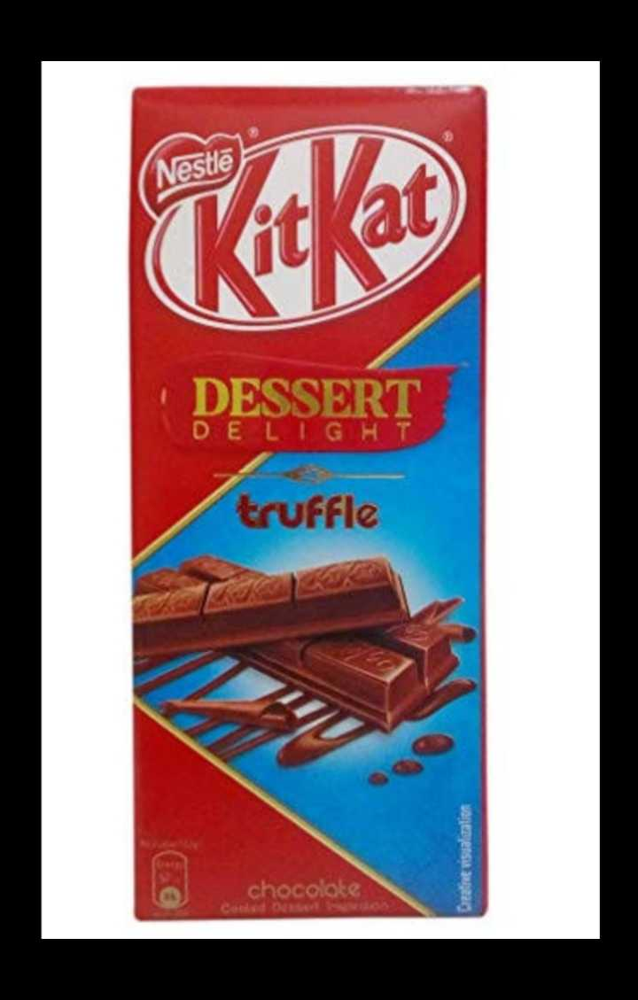 chocolate lovers 😘😍🍫👯 - Nestlē DESSERT DE LIGHT truffle into chocolate Cocos Create - ShareChat