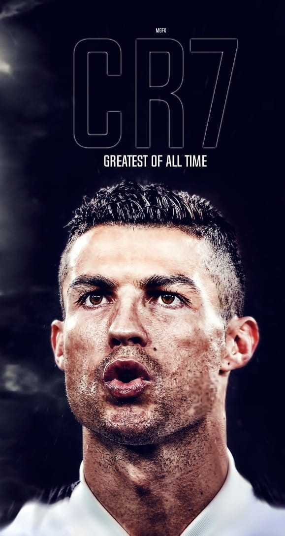 😍 cr7 - MGFX GREATEST OF ALL TIME - ShareChat