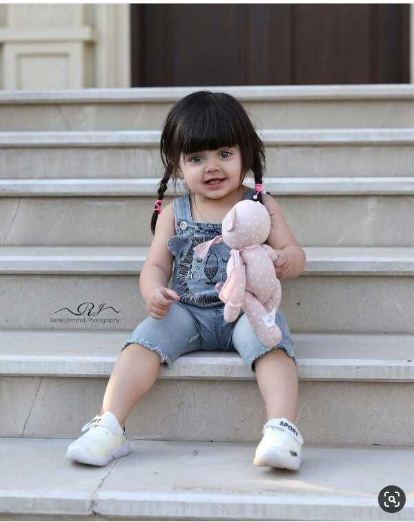 cute baby😘 - 23 Ramin Jamshidi Photography - ShareChat