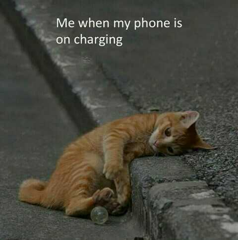 💖💖💚cute love💚💖💖 - Me when my phone is on charging - ShareChat