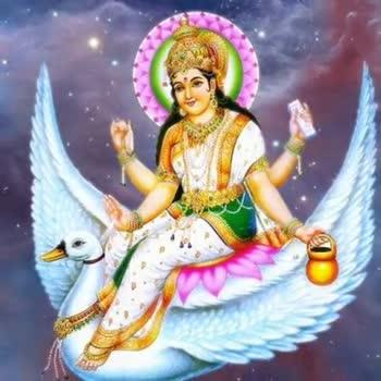 2️⃣ બીજો દિવસ : માઁ બ્રહ્મચારિણી - ShareChat