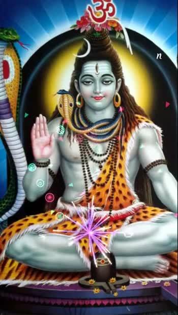ಶಿವ ಪಾರ್ವತಿ - 90U0ODELA 12555 on -   नःशवाय । । AV V - ShareChat