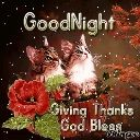 goodnight - : GoodNight - Giving Thanks God Blessing : GoodNight · Giving Thanks God Blesings - ShareChat
