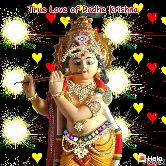 কৃষ্ণ ঠাকুর - True Love of Radhe Krishna - ShareChat
