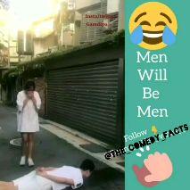 జోక్స్ - R0 Insta/twitter Gamdiyo Men Will 8 Follow OTHE COMEDY FACTS - ShareChat
