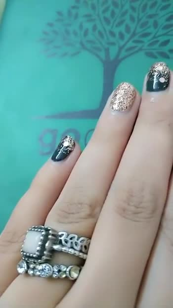 my nail paint design - ShareChat