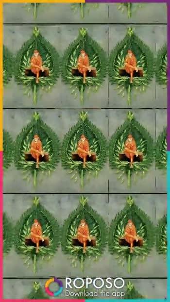 ઓમ સાઈ રામ - ROPOSO Download the app ROPOSO India ' s no . 1 video app Download now - ShareChat
