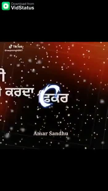 मां-बाप - Download from Amar Sandhu ਤੇ ਪੂਰੇ , Tik Tok avjotsingh0007 . Download Amar Sandhu Tik Tok navjotsingho007 - ShareChat