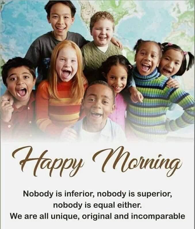 ಹುಬ್ಬಳ್ಳಿ - ಧಾರವಾಡ - Happy Morning Nobody is inferior , nobody is superior , nobody is equal either . We are all unique , original and incomparable - ShareChat