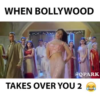 😄 हंसिये और हंसाइए 😃 - WHEN BOLLYWOOD @ OPARK TAKES OVER YOU 2 LIKE MY PAGE @ QPARK to see what CRAZINESS I have coming next ! - ShareChat