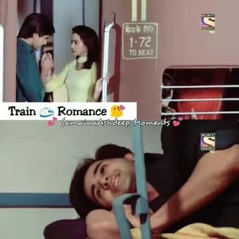 ninaithale inikum - SONY Train Romance SamainaAshdeep _ Moments SONY EU TrainRomance SamainaAshdeep _ Moments SONY - ShareChat