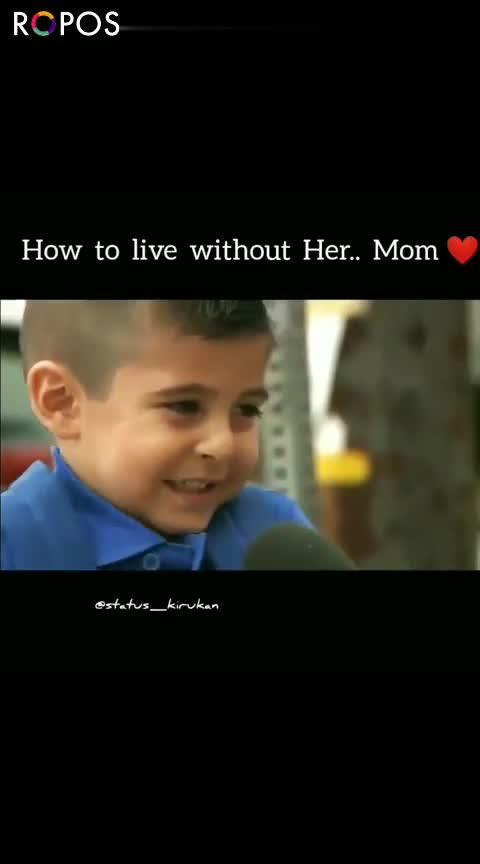❤హార్ట్ టచ్ సీన్స్ ❤ - How to live without Her . . Mom MANN estatus _ _ kirukan ROPOSO ROPOSO Install now : - ShareChat