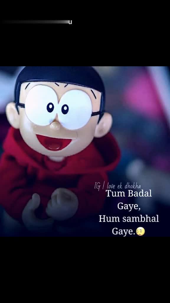 hurt 💔 broken - Tik Tok @ mukulyadavmanu IG I love ek dhokha Ek Be - Wafa Ne , Hasa Ke Rula Diya . boot Leurs IG I love ek dhokha Khush Ho Mere Bina , To Jao Khus Raho . : @ mukulyadavmanu - ShareChat