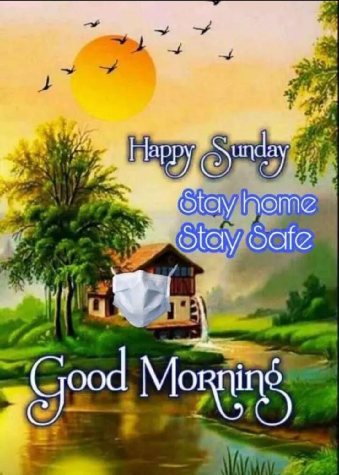 🚮కరోనా జాగ్రత్తలు - Happy Sunday , Stay home Stay Safe Good Morning - ShareChat