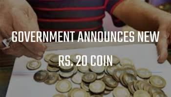 ரூ.20 நாணயம் வித்யாசமான வடிவில் அறிமுகம் - TOI The composition of the new coin will be 65 percent copper , - ShareChat