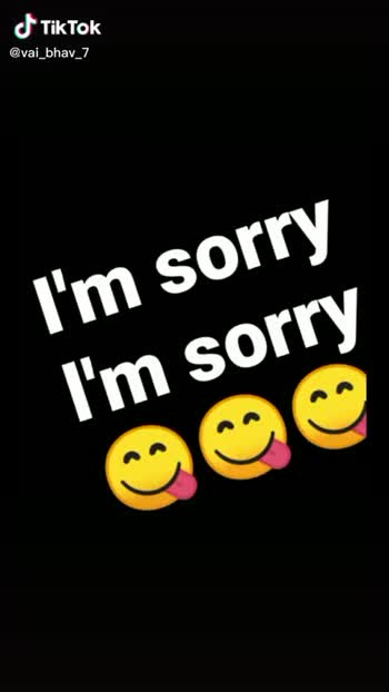 sorry sorry sorry sorry sorry - ShareChat