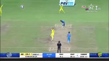 IND VS AUS 3rd ODI - UVEX 1 HD STAR SPORTS ORIGINAL DECISION NOT OUT WICKETS HITTING IMPACT IN - LINE PITCHING OUTSIDE OFF REVIEW RETAINED AUSTRALIA REVIEW ORIGINAL DECISION - NOT OUT LE ☆ THD STAR SPORTS ICC REVIEW RETAINED AUSTRALLA RIVIEW ORIGINAL DECISION - NOT OUT A lany IND 15 - 1 OVERS 4 . 2 - ShareChat