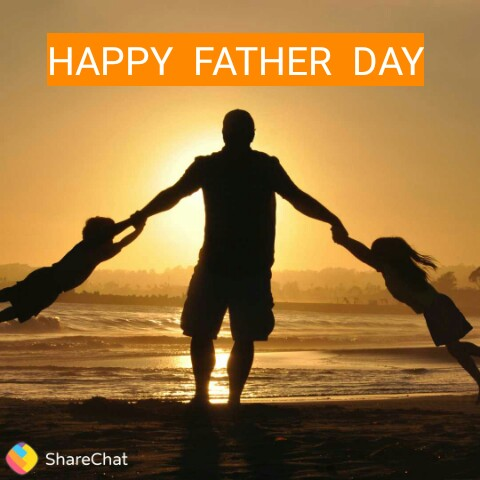 🤴फादर्स डे नेम आर्ट - HAPPY FATHER DAY ShareChat - ShareChat