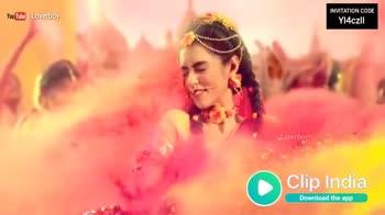 🎧హోలీ పాటలు - YouTube Loverboy INVITATION CODE YI4czll India Download the app YouTube Loverboy INVITATION CODE Y14czll Loverboy India Download the app - ShareChat