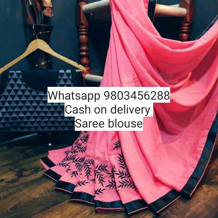 👚 ਸਾੜੀ ਅਤੇ gown ਡਿਜ਼ਾਈਨ - Whatsapp 9803456288 Cash on delivery Saree blouse - ShareChat