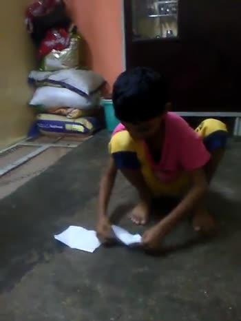 ✈️माझा पेपरप्लेन चॅलेंज व्हिडिओ - ShareChat