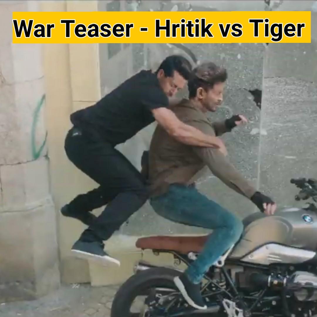 मूवी रिव्यू - War Teaser - Hritik vs Tiger - ShareChat