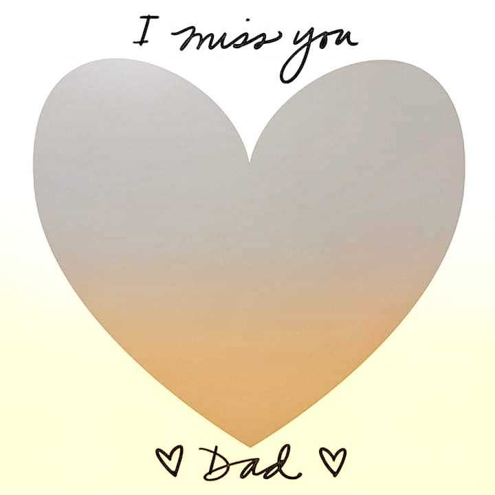 dad - I mies you I miss you ♡ Dad ♡ - ShareChat