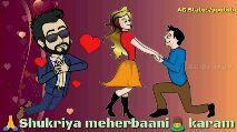 love video status - AG Status / youtube Shukriya meherbaani karam - ShareChat