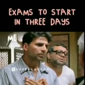 Special 4 Railway Exam - EXAMS TO START IN THREE DAYS ME SUPER CHUT EXAMS TO START IN THREE DAYS ME - ShareChat