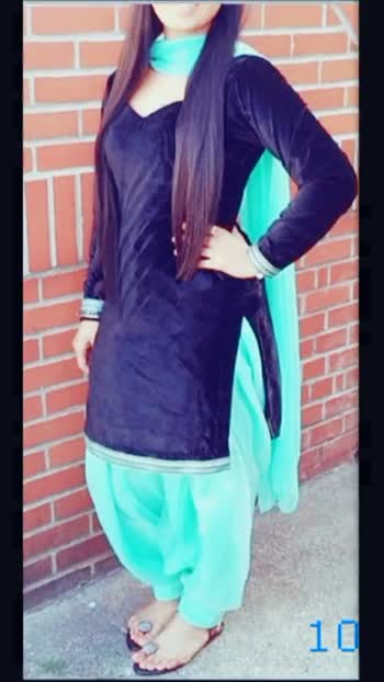 punjabi suit 😘 - ShareChat