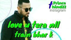 love you jatta ❤️ by garry sandhu - 2 Prince 7 hind22 instagram band bananll Prince 7 hind22 instagram tena ve jatta pyar ho jawa - ShareChat