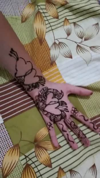 bridal mehandi - ShareChat