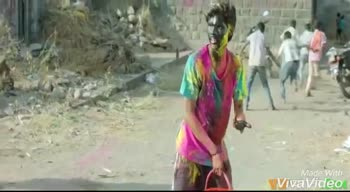happy holi in advance - Made With VivaVideo Made With VivaVideo - ShareChat