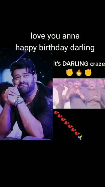 happy birthday prabhas 🎂 - ShareChat
