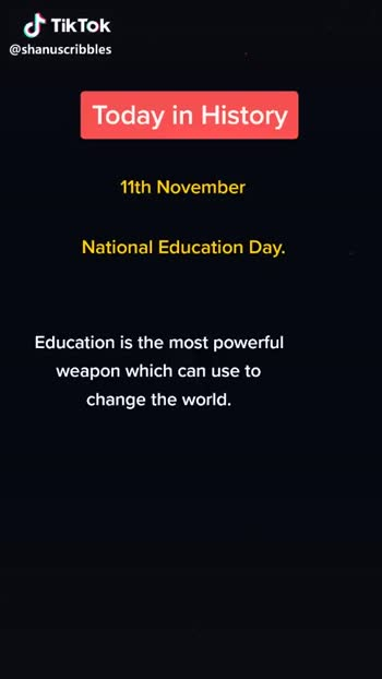 national education day - ShareChat
