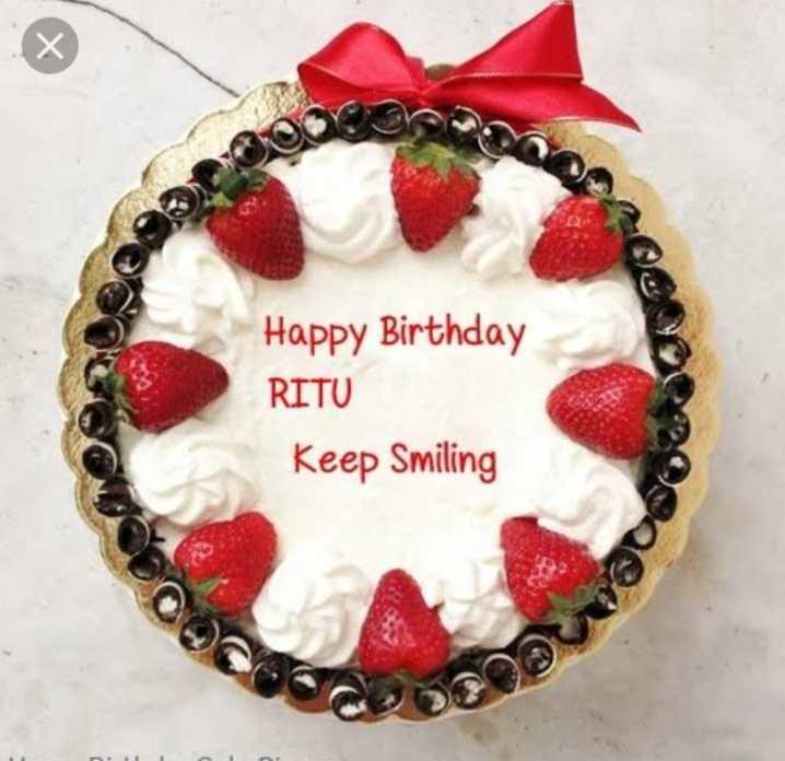 dig's - Happy Birthday RITU Keep Smiling - ShareChat