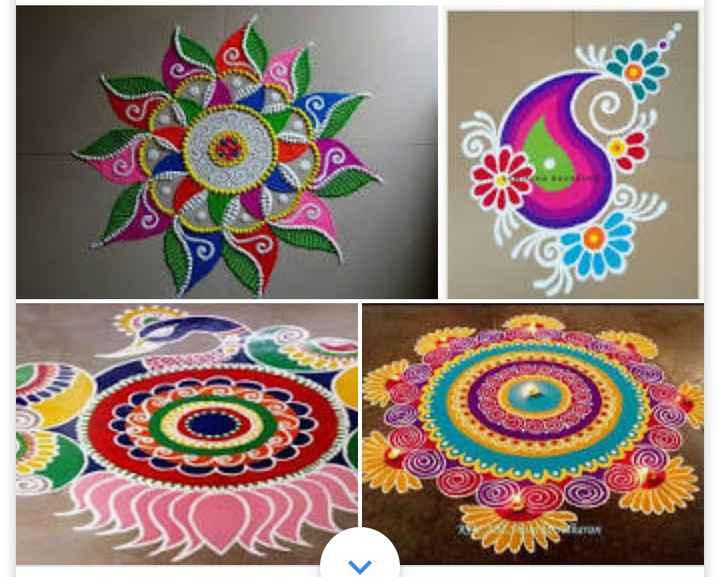 diwali best rangoli  😍 - Ton A SOON 535 Po 20 MO - ShareChat