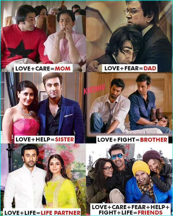 👬dosti👬 - LOVE + CARE = MOM LOVE + FEAR = DAD КИНИ LOVE + HELP = SISTER LOVE + FIGHT = BROTHER LOVE + LIFE = LIFE PARTNER LOVE + CARE + FEAR + HELP + FIGHT + LIFE = FRIENDS - ShareChat