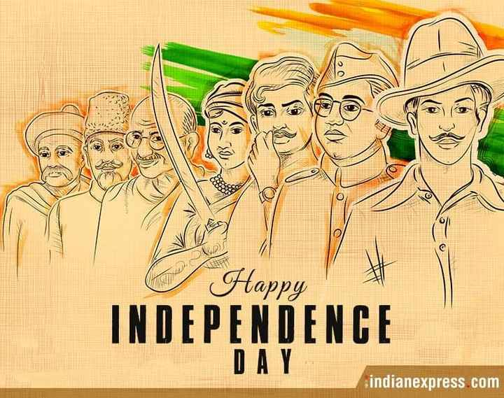 dosto 4 din ki jindagi hi aje hi kal nhi glo yr - Happy INDEPENDENCE DAY indianexpress com - ShareChat