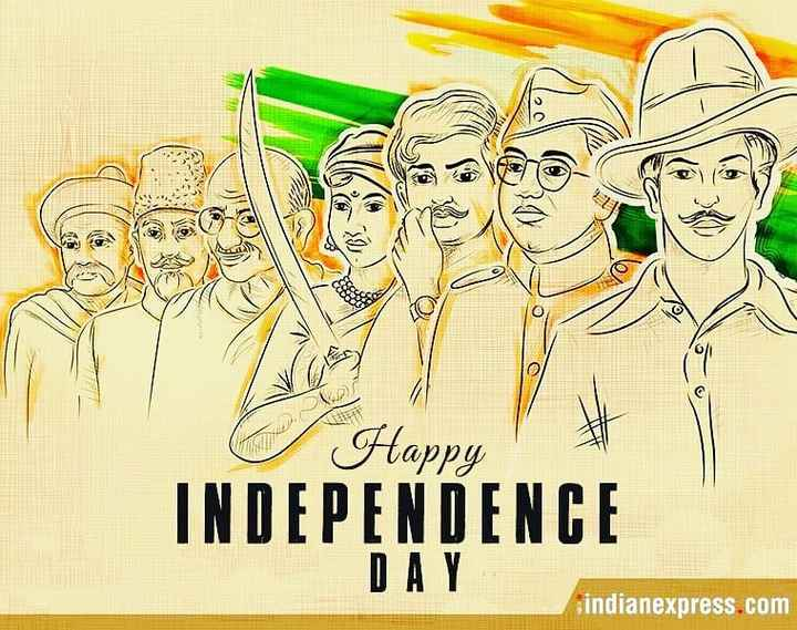 dosto 4 din ki jindagi hi aje hi kal nhi glo yr - Happy INDEPENDENCE DAY indianexpress . com - ShareChat
