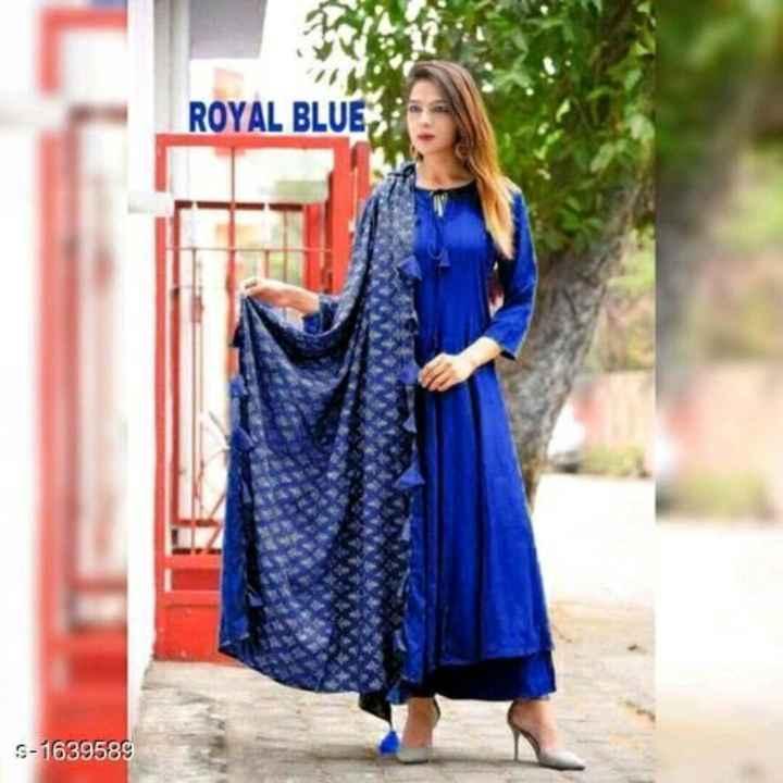 dress - ROYAL BLUE S - 1639589 - ShareChat