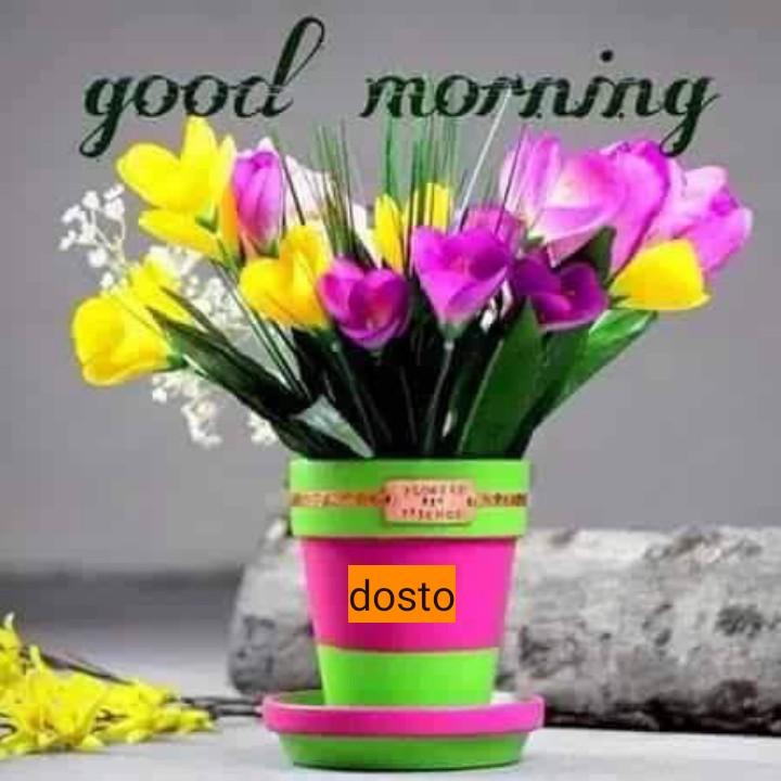 😊💐good morning 😊💝 - good morning dosto - ShareChat