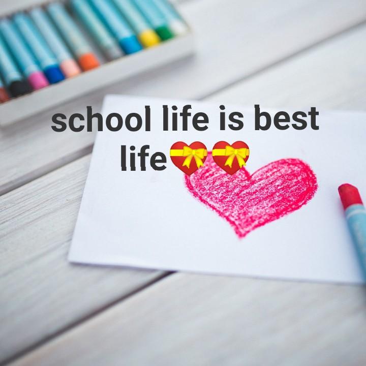 📃বন্ধুত্বের কবিতা - school life is best life - ShareChat