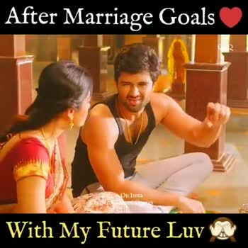 💑 காதல் ஜோடி - After Marriage Goals ско Follow On Insta Crazice Kanmani Qus With My Future Luv UN | After Marriage Goals CK Follow On Insta ziec Kanmani Quotes With My Future Luv one - ShareChat